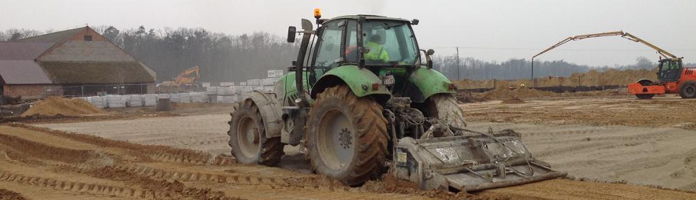 Stabilizacja gruntu – usługi sprzętem do stabilizacji gruntów